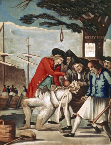 785px-Philip_Dawe_(attributed),_The_Bostonians_Paying_the_Excise-man,_or_Tarring_and_Feathering_(1774)